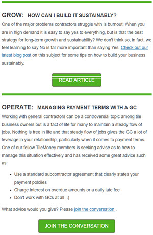 Tile Money Newsletter
